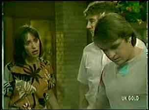 Maria Ramsay, Nick Burman, Shane Ramsay in Neighbours Episode 0053