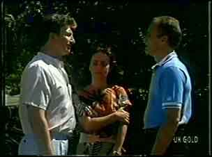 Nick Burman, Maria Ramsay, Jim Robinson in Neighbours Episode 0054