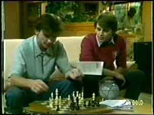 Danny Ramsay, Scott Robinson in Neighbours Episode 0058