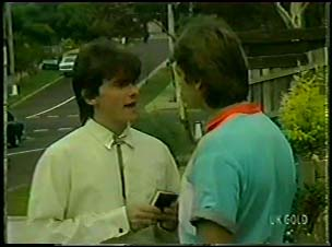 Danny Ramsay, Shane Ramsay in Neighbours Episode 0079
