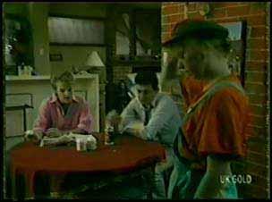 Daphne Clarke, Des Clarke, Terry Inglis in Neighbours Episode 0080
