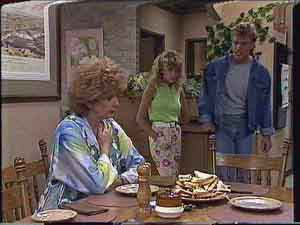 Madge Bishop, Charlene Mitchell, Henry Ramsay in Neighbours Episode 0430