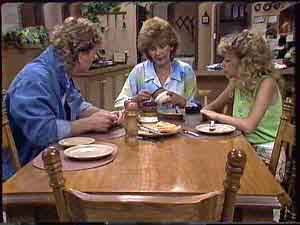 Henry Ramsay, Madge Bishop, Charlene Mitchell in Neighbours Episode 0430