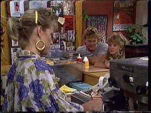 Daphne Clarke, Henry Ramsay, Charlene Mitchell in Neighbours Episode 0431