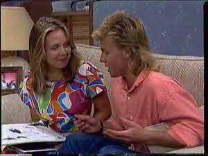 Sue Parker, Scott Robinson in Neighbours Episode 0431