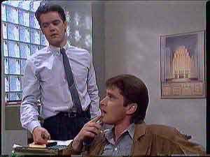 Paul Robinson, Derek Morris in Neighbours Episode 0431
