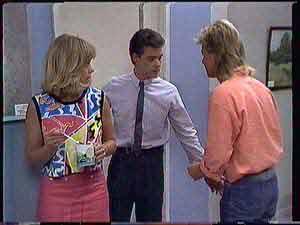 Jane Harris, Paul Robinson, Scott Robinson  in Neighbours Episode 0432