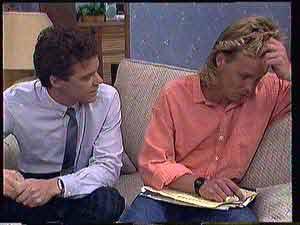 Paul Robinson, Scott Robinson  in Neighbours Episode 0432