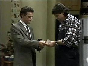 Paul Robinson, Joe Mangel in Neighbours Episode 1480