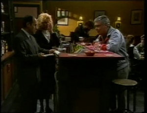 Benito Alessi, Madge Bishop, Lou Carpenter in Neighbours Episode 1815