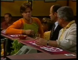 Cameron Hudson, Benito Alessi, Lou Carpenter in Neighbours Episode 1815