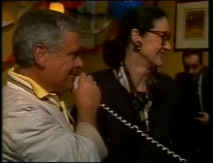 Lou Carpenter, Dorothy Burke, Philip Martin in Neighbours Episode 1815