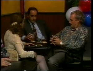 Philip Martin, Julie Martin, Jim Robinson in Neighbours Episode 1815