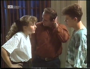 Debbie Martin, Philip Martin, Michael Martin in Neighbours Episode 1826