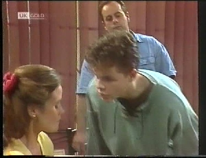 Julie Robinson, Michael Martin, Philip Martin in Neighbours Episode 1826
