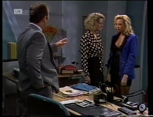 Philip Martin, Fiona Hartman, Annalise Hartman in Neighbours Episode 1852