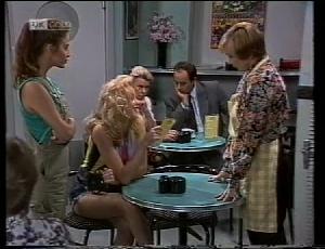 Beth Brennan, Annalise Hartman, Cathy Alessi, Helen Daniels, Philip Martin in Neighbours Episode 1852