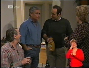 Doug Willis, Lou Carpenter, Philip Martin, Cheryl Stark in Neighbours Episode 1972