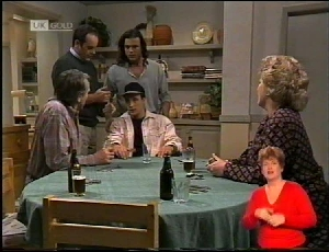 Doug Willis, Stephen Gottlieb, Cheryl Stark, Philip Martin, Wayne Duncan in Neighbours Episode 1972