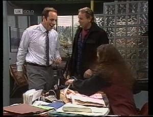 Philip Martin, Doug Willis, Gaby Willis in Neighbours Episode 1981