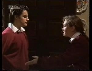 Rick Alessi, Debbie Martin in Neighbours Episode 1981