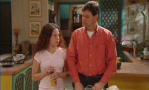 David Bishop, Serena Bishop in Neighbours Episode 4474