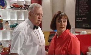 Harold Bishop, Svetlanka Ristic in Neighbours Episode 4598