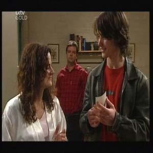 Liljana Bishop, David Bishop, Luka Dokic in Neighbours Episode 4598