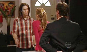 Dylan Timmins, Elle Robinson, Paul Robinson in Neighbours Episode 5032