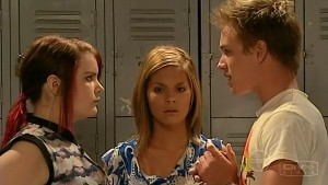 Bree Timmins, Rachel Kinski, Ringo Brown in Neighbours Episode 5214