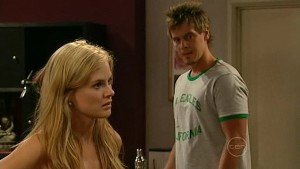 Elle Robinson, Ned Parker in Neighbours Episode 5215