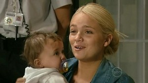 Sky Mangel, Kerry Mangel (baby) in Neighbours Episode 5215