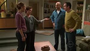Miranda Parker, Susan Kennedy, Steve Parker, Karl Kennedy in Neighbours Episode 5292