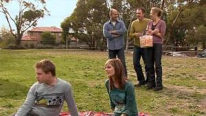 Ringo Brown, Rachel Kinski, Steve Parker, Karl Kennedy, Miranda Parker in Neighbours Episode 5292
