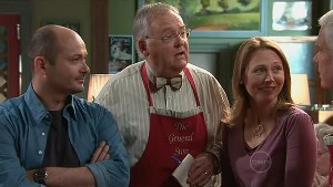 Steve Parker, Harold Bishop, Miranda Parker, Lou Carpenter in Neighbours Episode 5306