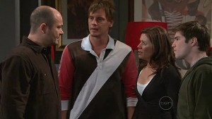 Steve Parker, Ned Parker, Rebecca Napier, Declan Napier in Neighbours Episode 5312