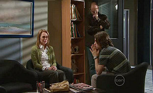 Miranda Parker, Steve Parker, Riley Parker in Neighbours Episode 5313