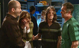 Steve Parker, Miranda Parker, Riley Parker, Karl Kennedy in Neighbours Episode 5313
