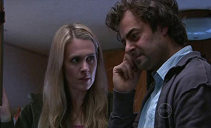 Laura Davidson, Nick Thompson in Neighbours Episode 5317