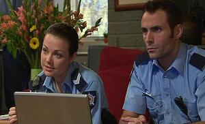 Snr. Const. Sophie Cooper, Adam Rhodes in Neighbours Episode 5317
