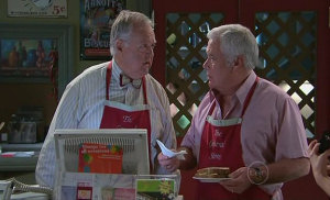 Harold Bishop, Lou Carpenter in Neighbours Episode 5326