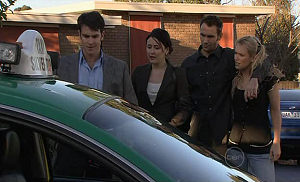Frazer Yeats, Rosie Cammeniti, Adam Rhodes, Pepper Steiger in Neighbours Episode 5326
