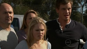 Steve Parker, Miranda Parker, Janae Timmins, Ned Parker in Neighbours Episode 5365