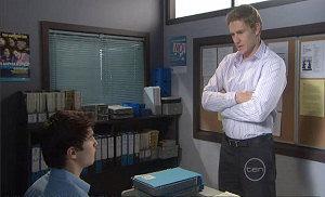 Dan Fitzgerald, Declan Napier in Neighbours Episode 5379