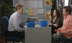 Dan Fitzgerald, Libby Kennedy, Susan Kennedy in Neighbours Episode 5379