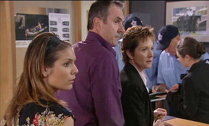 Rachel Kinski, Karl Kennedy, Susan Kennedy in Neighbours Episode 5381