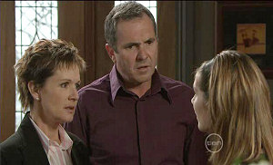 Susan Kennedy, Karl Kennedy, Rachel Kinski in Neighbours Episode 5381