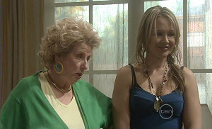 Valda Sheergold, Steph Scully in Neighbours Episode 5383