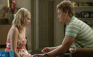 Janae Timmins, Ned Parker in Neighbours Episode 5384