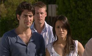 Marco Silvani, Carmella Cammeniti, Oliver Barnes in Neighbours Episode 5390